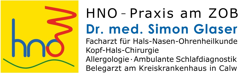 Dr. med. Simon Glaser Facharzt für Hals-Nasen-Ohrenheilkunde (HNO), Kopf-Hals-Chirurgie, Allergologie, Ambulante Schlafdiagnostik, Belegarzt